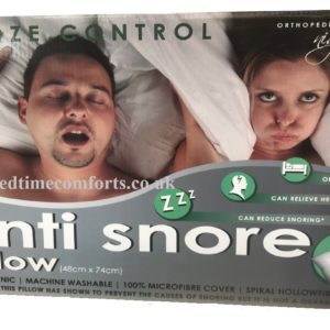 1 x Anti-Snore Spiral Fibre Pillow