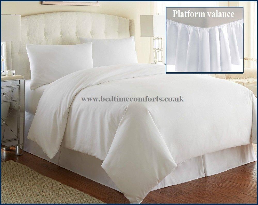 Single Bed Valance