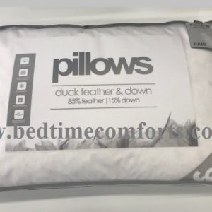2 x Bedtime Duck Feather & Down Pillows