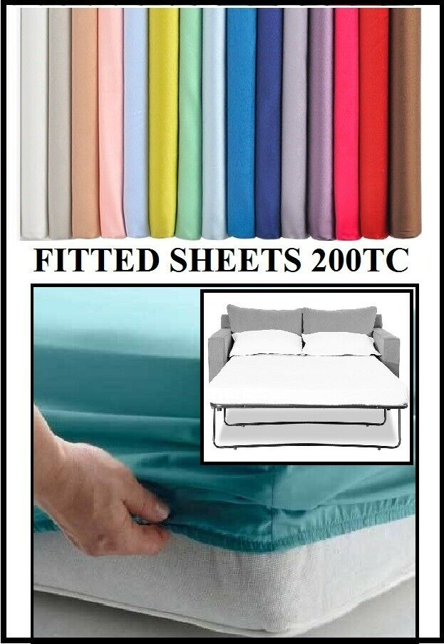 Sofa Bed Pull Out Fitted Sheet, Queen Sofa Bed Fitted Sheets