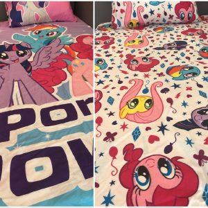My Little Pony Reversible Duvet Cover & 1 Pillowcase