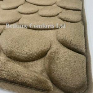 Pebble Non Slip Memory Foam Bath Mat (available in 5 colours)