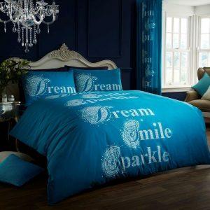 Blue Modern Duvet Cover + Pillowcases DREAMS