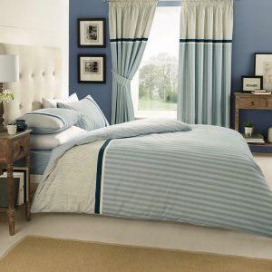 Blue Modern Duvet Cover + Pillowcases VITO