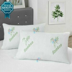 1 x BAMBOO SUPER SOFT PILLOW Size 48cm x 74cm (19″ x 29″)