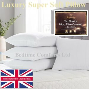 1 x FOGARTY LUXURY SUPER SOFT (Hollow Fibre-Micro Fibre) PILLOW
