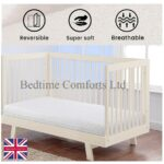 Bedtime Comforts Waterproof Baby Toddler Cot Crib Bed Mattress Quilted